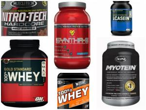 Type of whey protein available in the market